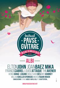 Festival Pause Guitare - 05 au 10 juillet 2016