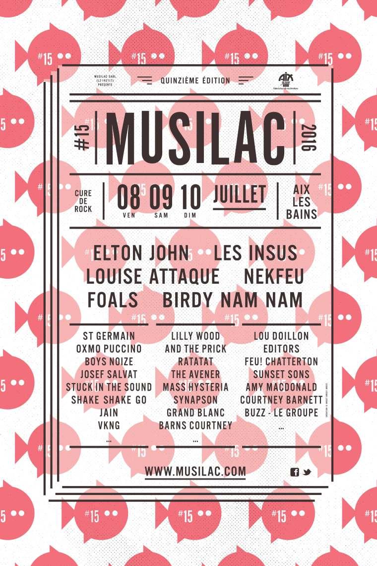 Musilac - 08 au 10 juillet 2016