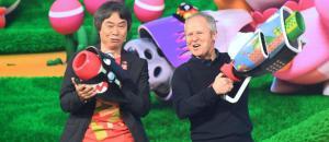 Shigeru Miyamoto et Yves Guillemot
