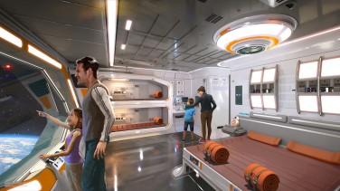 Star Wars Galaxy's Edge - Room
