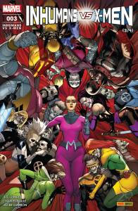 Inhumans vs X-Men