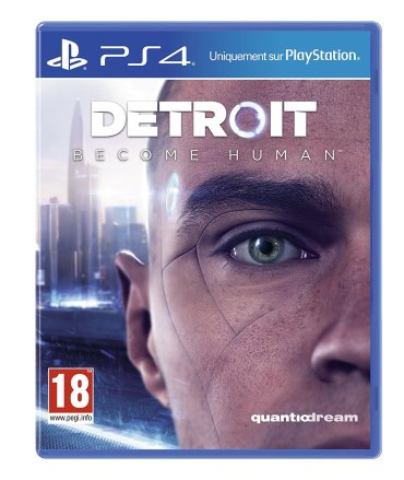 Detroit Become Human - Boîte PS4
